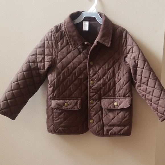NWT Gymboree Boys Quilted Barn Jacket Coat NEW